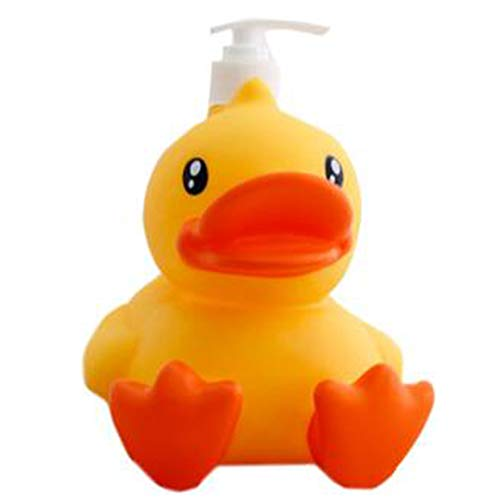 Showhole Cute Cartoon Animal Hand Soap Dispenser Bathroom Pump Lotion Dispensers Bottle (900 ml)