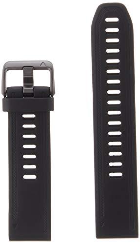 Garmin Fenix 6S, Silicone Nero Quick Fit 20 mm Fenix 5S/5S Plus