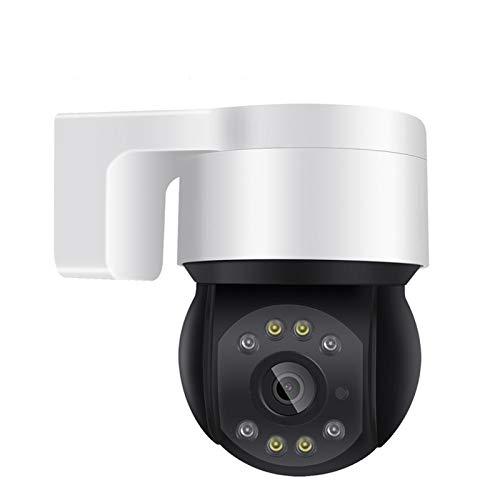 1080P 48V Poe Mini PTZ Cámara IP Tarjeta SD al aire libre AI Detección humana 2MP Cámara de cúpula IP Audio IR IR Blanco LED CCTV Seguridad Cámara de seguridad cámara ( Sensor Size : Camera 32G Card )