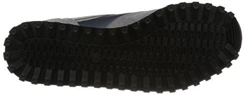 [ゼットディーエー]スニーカー2400FSLグレー/ネイビー25.5~26.0cm
