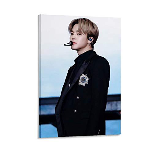 K-POP BTS JIMIN Nam-joon Kim Seok Jin Min Yoon Gi Jeon Jung Kook J-Hope Kim Tae Hyung 15 poster su tela e stampa artistica da parete, 50 x 75 cm