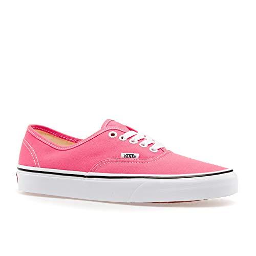 Vans Authentic Shoes 35 EU Strawberry Pink True White