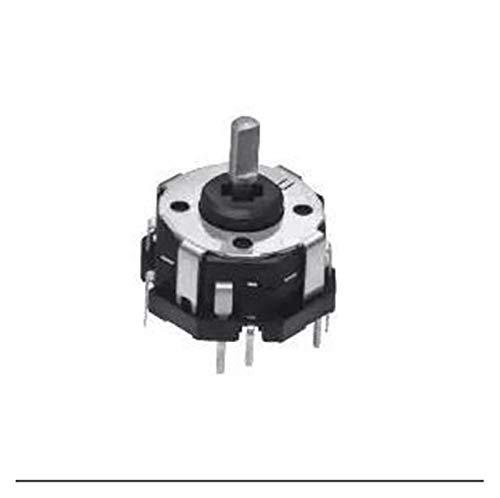 XINGYAO Interruptor Giratorio Interruptor multifunción RKJXT1F42001 Original, más Encoder de Interruptor de Empuje de Cuatro vías S