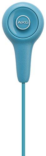 AKG Y 10 Leichter In-Ear Kopfhörer Ohrhörer Tragbar mit 3,5mm Audiokabel Kompatibel mit Apple iOS und Android Geräten - Blau