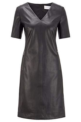 BOSS Damen C_Dalegy Lässiges Kleid, Black1, 38