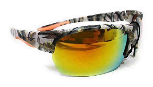 Vertx Camo Western Mens Womens Sunglasses (Orange)