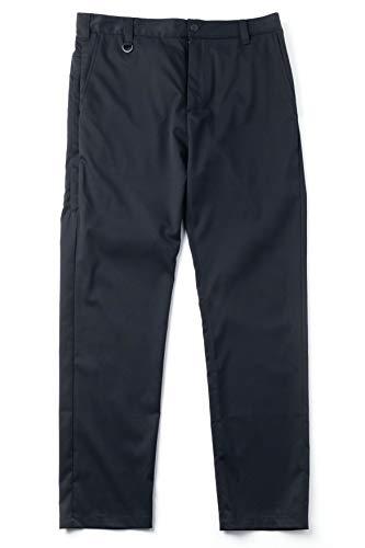 [ワークウェアスーツ] フルレングスストレートパンツ〈メンズ〉 (ダークネイビー, S)
