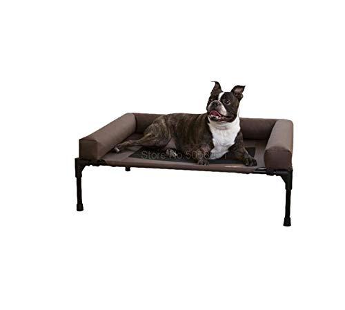 Pet Suppliespet Camping Bed Verwijderbare en wasbare Golden Retriever Vochtbestendige riem om de wervelkolom te beschermen Groot en middelgroot hondenhok 107X76X19Cm3