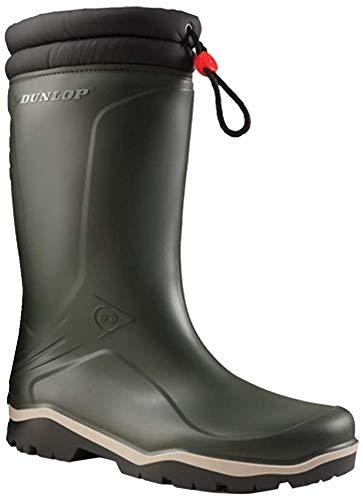 Dunlop Boots Thermostiefel Blizzard Wintergummistiefel für Damen und Herren (43 EU, grün)