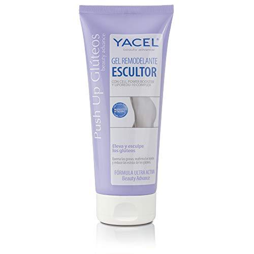 Yacel Push Up Glúteos | Eleva, Esculpe y Reduce las Estrías de los Glúteos | Glúteos Firmes y Erguidos | Apto en Embarazo y Lactancia | 200ml