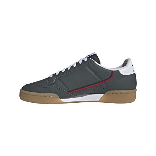 adidas Hombre Continental 80 Zapatillas Gris, 39 1/3