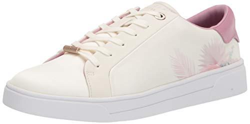 Ted Baker Women's Sneaker, White, 7
