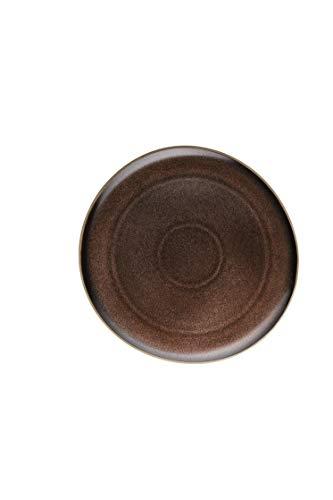 Rosenthal - Junto - Bronze - Teller/Speiseteller/Essteller - flach - Steinzeug - Ø 27 cm