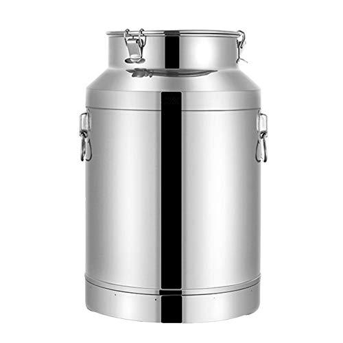 the teapot company Tanque de recipientes de Acero Inoxidable Fermentación de la fermentación del Vino Materia Prima Transporte de los Tanques sellados de Alimentos (tamaño : 5L)