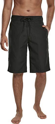 Urban Classics Herren Board Bermuda Shorts Badehose, Black, L