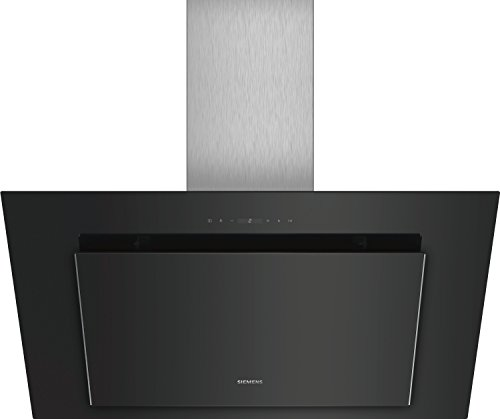 Siemens LC98KLP60 iQ500 Wand-Esse / 89 cm / LED-Beleuchtung / Extrem Leise / TouchControl / schwarz mit Glasschirm