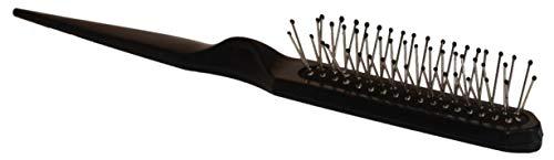 Perücken Bürste mit Noppen schwarz für Extensions & Zweithaar