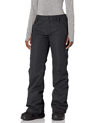 Volcom Women's Frochickie Insulated Lined Snow Pant, Black 1, Large