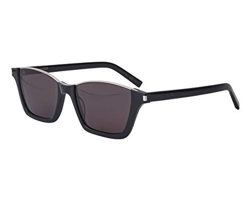 Yves Saint Laurent Sonnenbrillen (SL-365-DYLAN 002) schwarz glänzend - palladium-silber - grau
