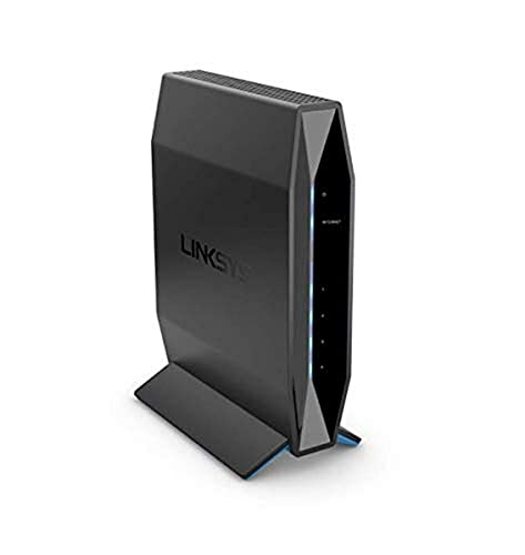 Linksys E5600 AC 1200 Dual-Band (2.4 GHz & 5 GHz) Router with Easy mesh Feature & MU-MIMO,Fast Speeds up to 1.2 Gbps and Coverage up to 1,000 sq ft with Easy Browser Set up & Parental Controls