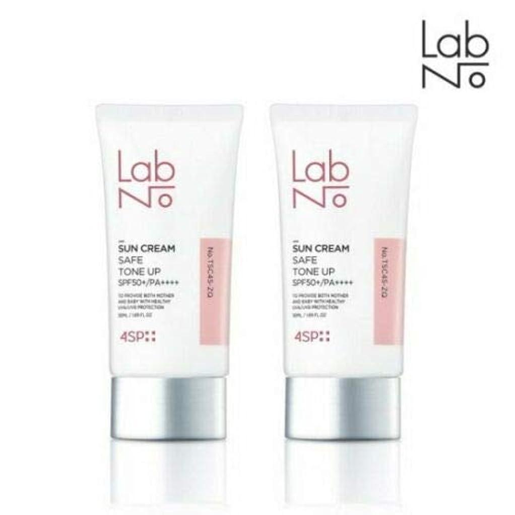 距離否定する刺激する[1+1] LABNO セーフ トーンアップ サンクリーム 50ml SPF50+/PA++++ Safe Tone Up Sun Block Cream