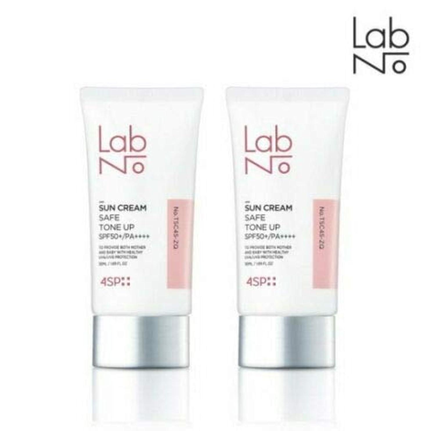 怪物敬意思慮深い[1+1] LABNO セーフ トーンアップ サンクリーム 50ml SPF50+/PA++++ Safe Tone Up Sun Block Cream