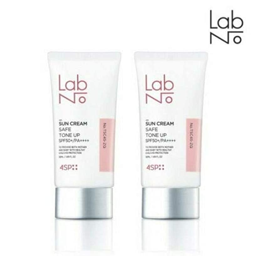 南支給もちろん[1+1] LABNO セーフ トーンアップ サンクリーム 50ml SPF50+/PA++++ Safe Tone Up Sun Block Cream