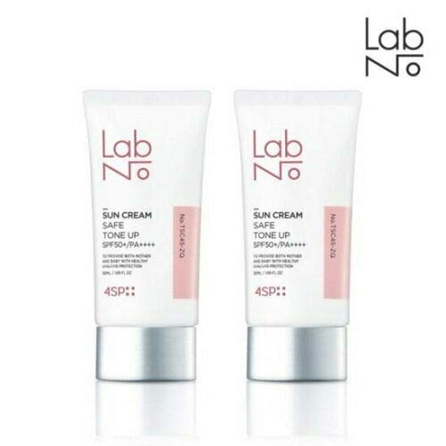 中でクーポンいたずら[1+1] LABNO セーフ トーンアップ サンクリーム 50ml SPF50+/PA++++ Safe Tone Up Sun Block Cream