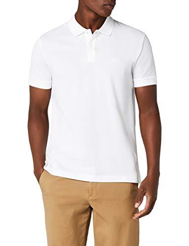 BOSS Herren Piro Poloshirt, Weiß (White 100), Medium
