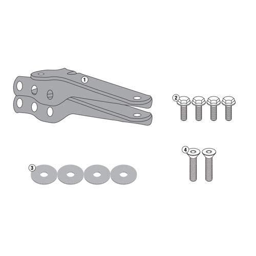 GIVI SR4114 Bike specific top case rack