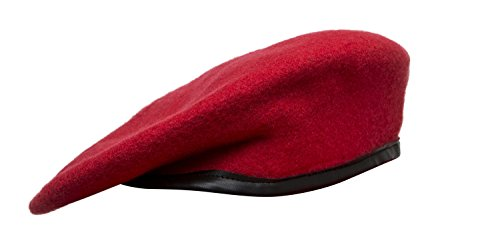 Colored Berets, JROTC (7 3/8, Red)