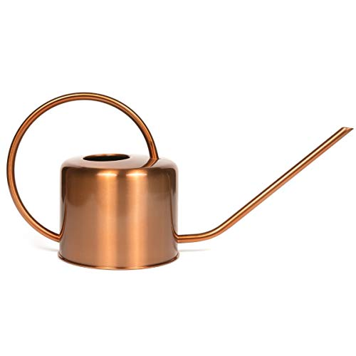 Homarden Copper Colored Watering Can for Outdoor and Indoor