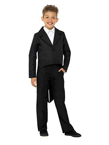 Smiffys 49744 - Disfraz de cola para niños (tamaño pequeño), color negro