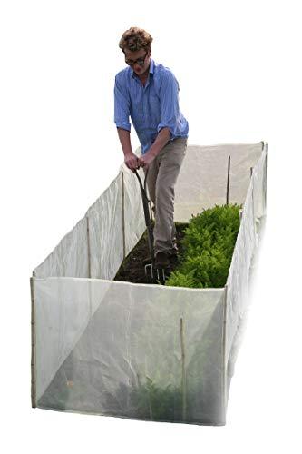 Tierra Garden 50–4000 Haxnicks glazen stolp in micromesh Pest en wind barrière