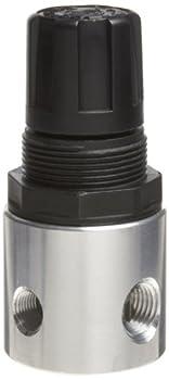 Parker R344-02A Regulator Relieving Type 0-30 psi Pressure Range No Gauge 19 scfm 1/4  NPT