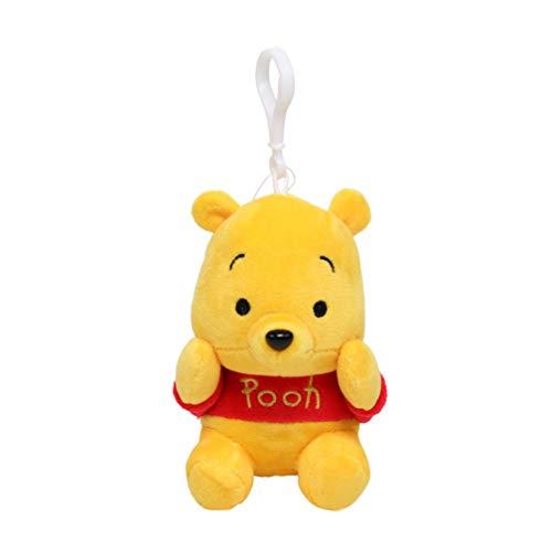 Schlüsselbund Schlüsselanhänger Winnie The Pooh Plüsch Puppe Anhänger Spielzeug Tasche Anhänger Keychain Schlüssel Ring