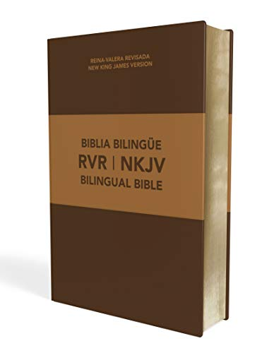 Biblia bilingüe Reina Valera Revisada / NKJV, Leathersoft, Café / Spanish Bilingual Bible Reina Valera Revisada / NKJV, Leathersoft, Brown (Spanish Edition)