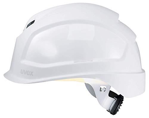 Uvex Pheos B-S-WR Schutzhelm - Belüfteter Arbeitshelm für die Baustelle - Weiß Weiß