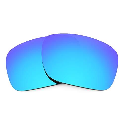 Revant Lentes de Repuesto Compatibles con Gafas de Sol Oakley Holbrook, No Polarizados, Azul Hielo MirrorShield