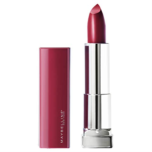 Maybelline New York Color Sensational Made for All Lipstick, Plum For Me, Satin Purple Lipstick
