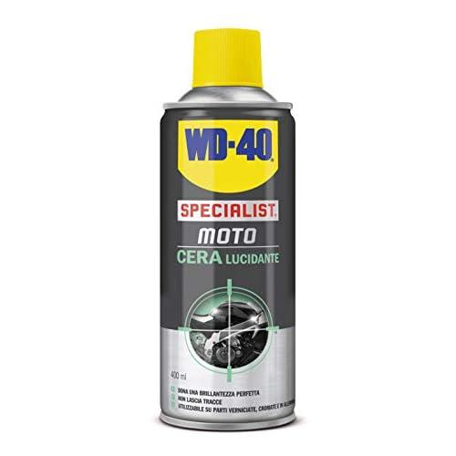 WD-40 Specialist Moto Cera Lucidante Moto Spray, 400 ml
