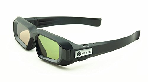 RF/Bluetooth Type 3D Active Glasses for Epson 3D Projectors,for Home Cinema and PowerLite Home Series,Compatible for ELPGS03