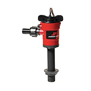 Johnson Pump 28502 Livewell Aerator Cartridge Pump, 500 GPH - Straight
