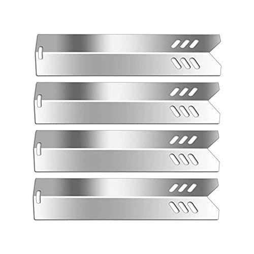 Boloda Grill-Heizplatten, Brennerabdeckungen, Flammenbrecher, 38,1 cm, Edelstahl, teil für Dyna-Glo DGF510SBP, Backyard BY13-101-001-13, Uniflame GBC1059WB, BHG Modelle, 4 Stück
