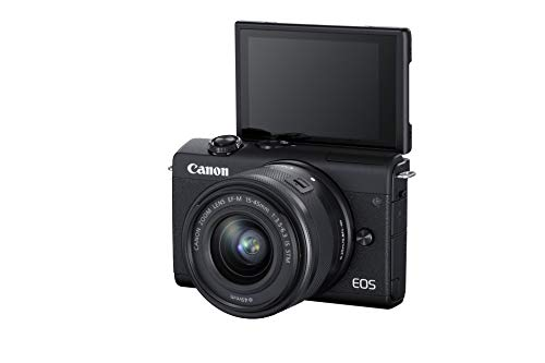 Canon EOS M200 Mirrorless Camera, EF-M 15-45mm f/3.5-6.3 is...