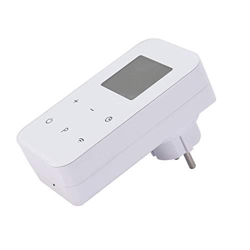 Enchufe termostato, pantalla táctil, funciona con Google Assitent y Amazon Alexa