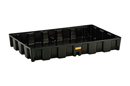 CEMO 10710 PE-Auffangwanne 120 HD, schwarz, 120 L