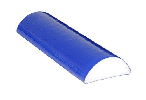 Buy Discount CanDo PE TufCoat Foam Roller, 4 X 12, Half-Round