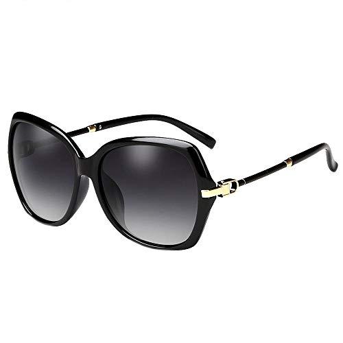 miaopai zonnebril gepolariseerd groot frame rijden unisex zonnebril [geleidelijk grijs]