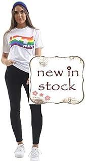 Hi Fashionz Unisex Pride I Love Gay Printed T-Shirt LGBT Rainbow Lesbian Tee Top Festival Flag Tshirt